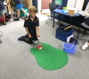 6 Indoor sports hole in one